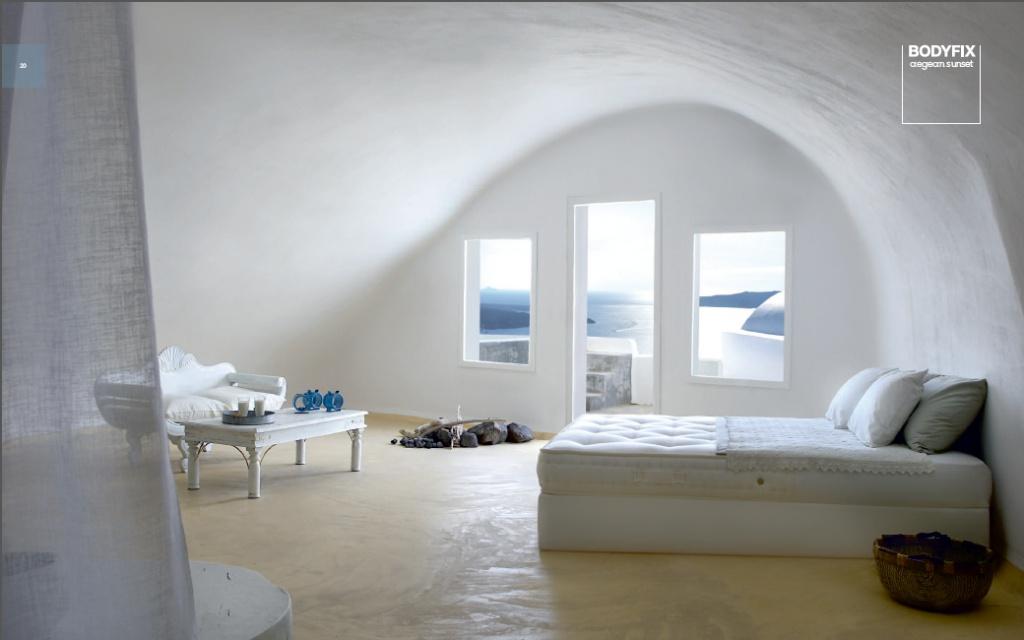 Das Aegean Sunset, ist das einfachste Boxspringbett der Marke Candia Strom