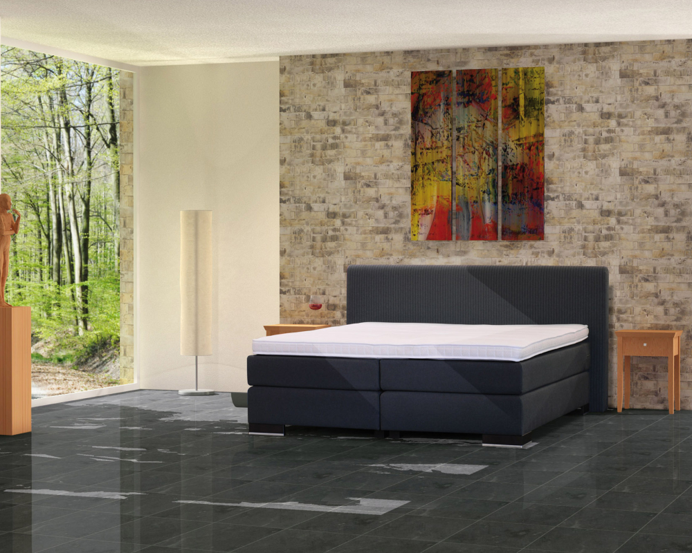 talida clay sanders boxspringbett. Black Bedroom Furniture Sets. Home Design Ideas